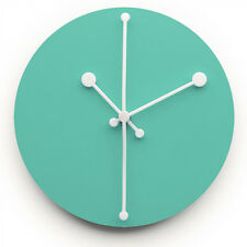 NEW Alessi Dotty Turquoise Wall Clock