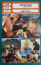 US Revisionist Western Soldier Blue Candice Bergen French Film Trade Card