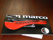 Selle San Marco Aspide Superleggera Team Carbon Saddle Black Red 115g
