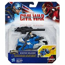Marvel Captain America Civil War - Winter Soldier With Blast-Action Cycle