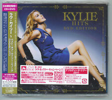 "KYLIE MINOGUE ""HITS"" BEST OF JAPAN CD+DVD +1 TOCP-66995 *SEALED*"