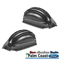 2009-2013 FORD F-150 PAIR OF BLACK REAR WHEEL WELL LINERS