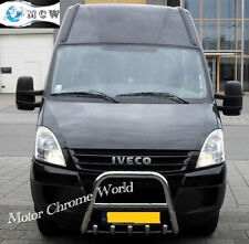 IVECO DAILY BULL BAR CHROME AXLE NUDGE A-BAR 60mm 2000-2006 S.STEEL NEW ON OFFER