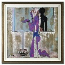"""""""Anguish of Athena"""" by Lu Hong Hand Signed Limited Edition Giclee Custom Framed!"""