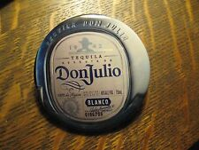 Don Julio Blanco Tequila Mexico Blue Bottle Agave Advertisement Pocket Mirror