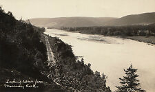 Looking West Morrissey Rock CAMPBELLTON NB Canada 1924-49 H.V. Henderson RPPC