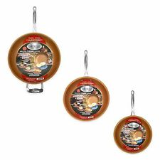 "Gotham Steel 3-Piece Nonstick Frying Pan Set – 3 Sizes - 9.5"", 11"" 12.5"" - NEW!"