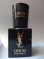 YSL OPIUM PARFUM SCENTED CANDLE 70g RARE POTENT VINTAGE 1990s NEW BUT DENTED BOX
