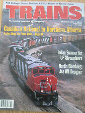 1994 Trains Magazine - Canadian National in Northern Alberta; Dome Cars