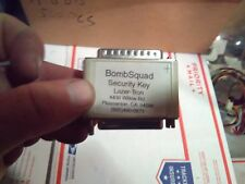 bomb squad lasertron arcade security key/dongle