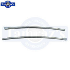 1968-1972 Chevy II Nova Quarter Window Channel With Guides Pair