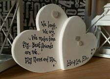 Mothers day Gift Mum Nanny Mam Granny Mom Mama Nonna freestanding Heart sign