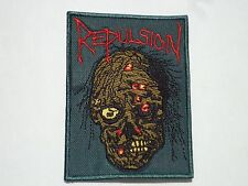 REPULSION DEATH METAL EMBROIDERED PATCH