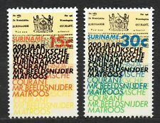 Suriname - 1974 200 years weekly newspaper Mi. 675-76 MNH