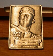Topps 1984 Gallery of Champions Promo Pewter Mini Mickey Mantle 1952 Rookie RC