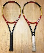 TWO Prince Precision Equipe Midplus 95 Demo Tennis Racquets 4 3/8
