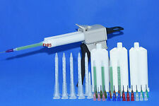 50ML Epoxy Resin Gun Dispenser Static Mixer Mixing Nozzle Gun Applicator 1:1 2:1