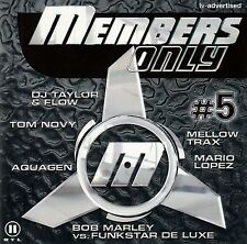 MEMBERS ONLY # 5 / 2 CD-SET (BMG ARIOLA MEDIA 1999) - TOP-ZUSTAND