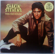 SHAKIN' STEVENS This Ole House 1980 OZ Epic EX/EX