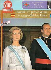 point de vue N°1475 sophie et juan carlos espagne reine mere elisabeth 1976
