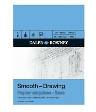 DALER ROWNEY SMOOTH DRAWING PAD - A4 (96gsm)
