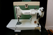 WHITE SINGER FEATHERWEIGHT NEAR MINT CONDITION FOR THOSE WHO WANT THE BEST
