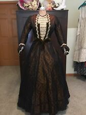 Antique Victorian Bustle Dress