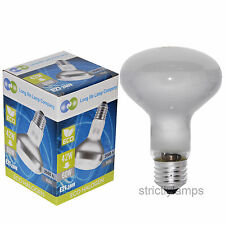 2 x R80 Halogen Reflector 42W = 60w Energy Saving Spot Light Bulb ES E27 Cap