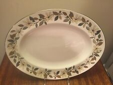 """Wedgwood Beaconsfield Oval Platter 15 1/4"""" Larger Size"""