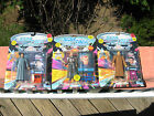 Lot of 3 Playmates Star Trek Next Generation Action Figures 1993~New