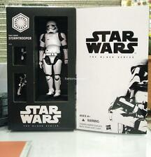 With box 6'' Hasbro Star Wars SDCC 2015 Black Series First Order Stormtrooper