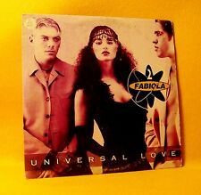 Cardsleeve Single CD 2 Fabiola Universal Love 2TR 1998 Euro House
