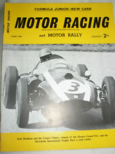 Motor Racing & Motor Rallying Jun 1959 Vol 6 No 6 Scarab, Monaco GP