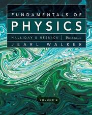 Fundamentals of Physics, Chapters 21-44 (Volume 2) by Halliday, David, Resnick,
