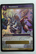WoW World of Warcaft CCG Trading card game Slashdance Loot Card unscratched NEW