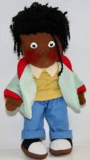CAMPBELLS Kids 'SAMPLE NOT FOR RESALE' Black Collectible Doll Wearing Jacket
