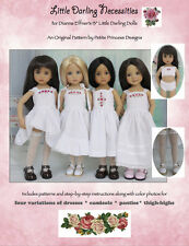 """""""Little Darling Necessities"""" Sewing Pattern for 13"""" Effner Little Darling Dolls"""