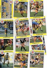 1991 WARRINGTON team set from Merlin Rugby League Collection