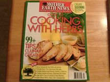 Mother Earth News GUIDE to COOKING WITH HERBS 2016 BRAND NEW