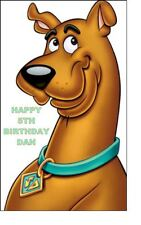 A5 SCOOBY DOO Glassa Commestibile Compleanno Cake Topper