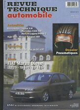 (8A)REVUE TECHNIQUE AUTOMOBILE FIAT MAREA Diesel / FORD MONDEO 4 cyl.essence