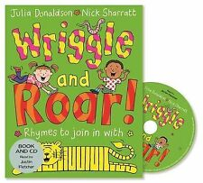 Wriggle and Roar!: Book and CD Pack, Donaldson, Julia - Audio CD Book NEW 978144
