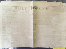 1861 - Daily Dispatch - Aug 27, 1861