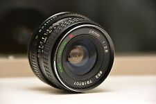 RMC TOKINA 28mm 1:2.8 Wide Angle Camera Lens, f2.8 28mm, C/FD CANON FD MOUNT