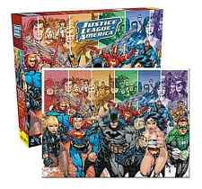 DC Comics Justice League of America 1000 piece jigsaw puzzle 690mm x 510mm (nm)