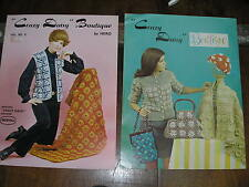 "Vintage Pattern Book ""Crazy Daisy Boutique""  for  Scovill Crazy Daisy loom"