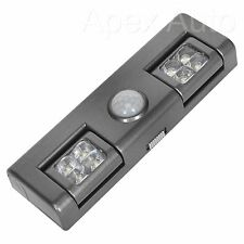 Wireless 8 LED AUTO LIGHT WITH PIR SENSOR Ideal for caravan at night time NEW  !