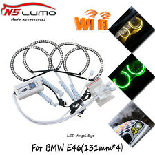 RGB wifi Led Angel Eyes Halo Ring for BMW E36 E38 E39 E46 (Fit:2001 BMW 320i)