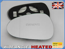 Wing Mirror Glass Seat Ibiza 2008-2016 Wide Angle HEATED Left Side #1050