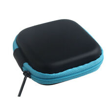 Zipper Storage Bag Carrying Case for Hard Keep Earphones SD Card Area